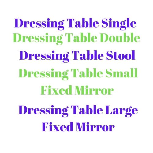 Nore Oak Dressing Table