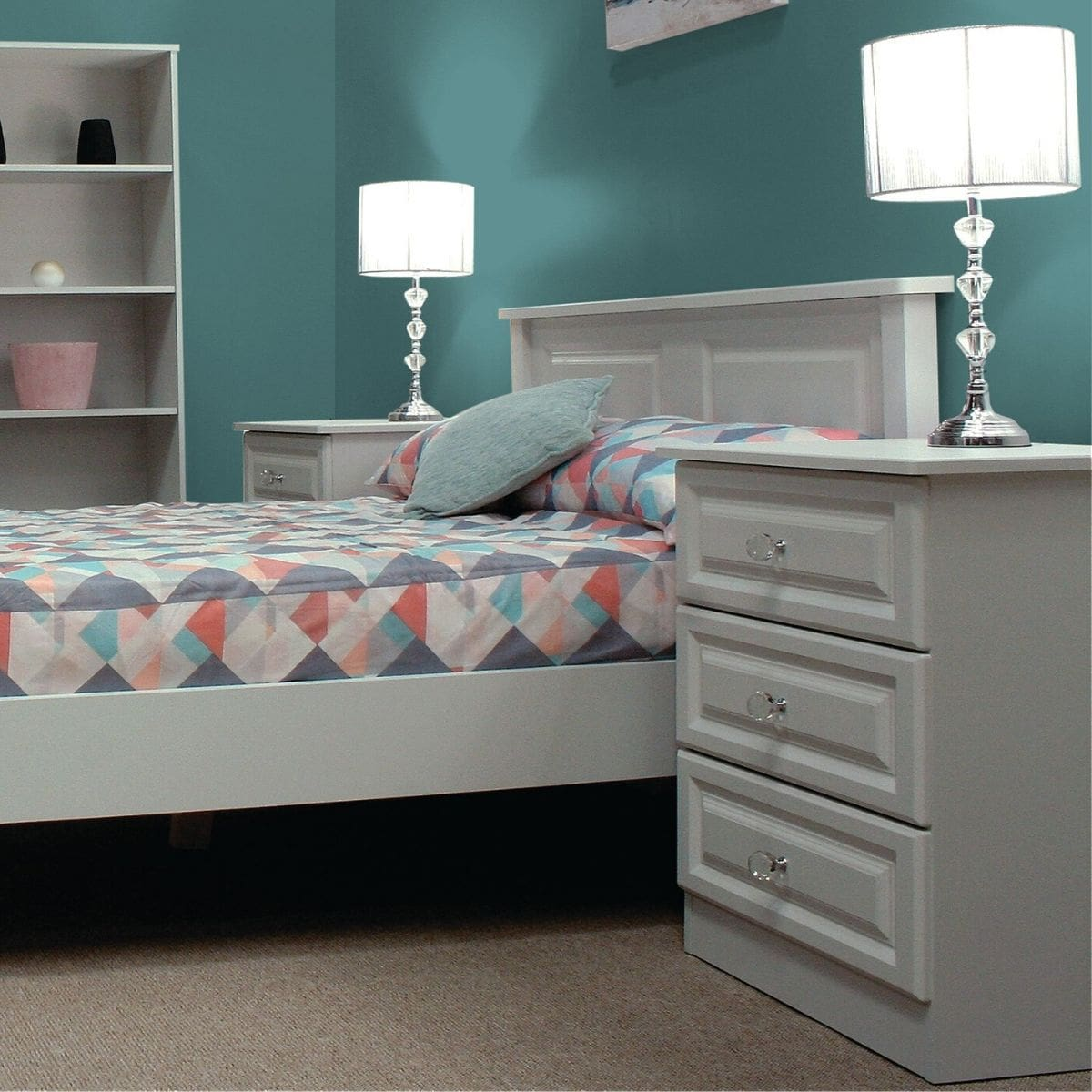 Gurteen Bed Frame Grey
