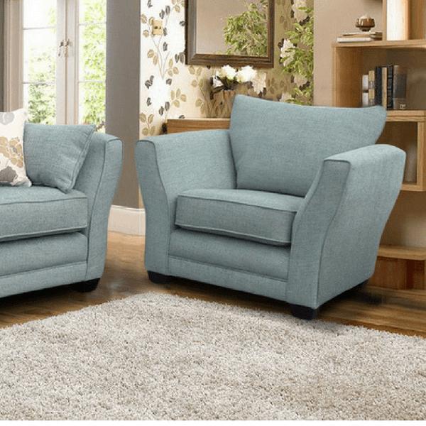 Light Blue Armchair