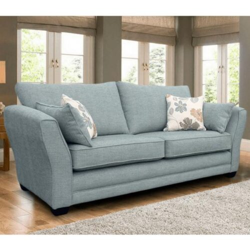 Lana Blue 3 Seater Sofa