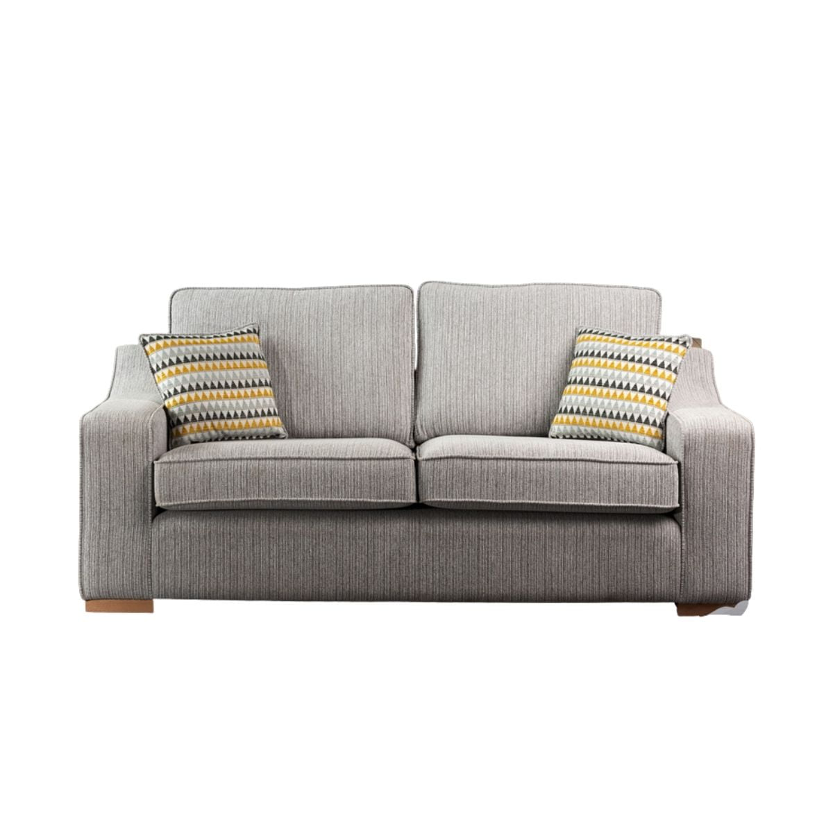 Beyonce Silver Two-Seater Sofa