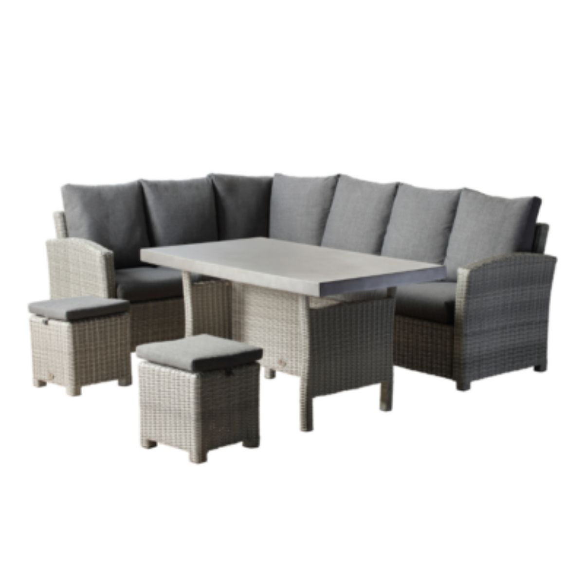 grey rattan furniture