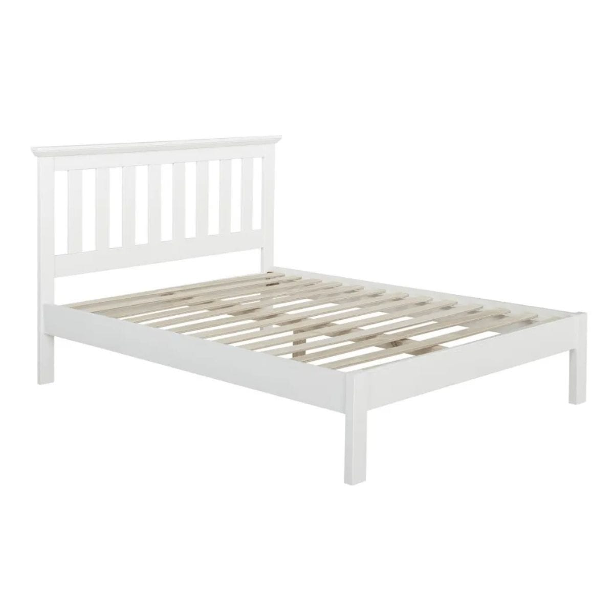 Cream Wooden Bed Frame