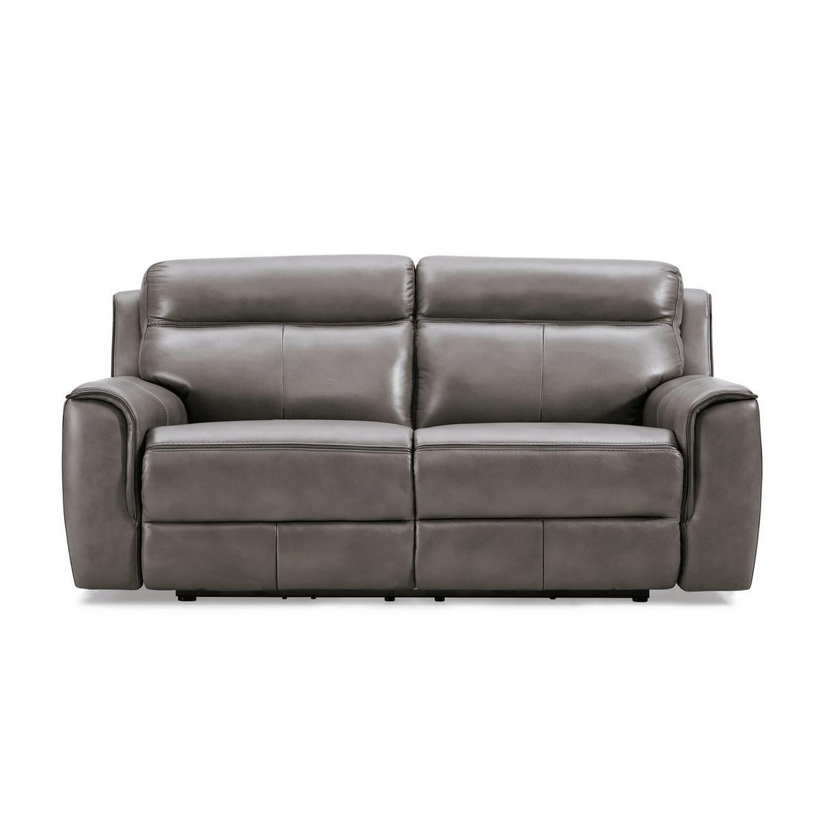 Nathaniel 2 Seater Leather Recliner