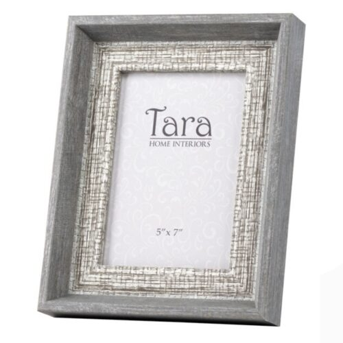 Abigail Grey Photo Frame 5x7