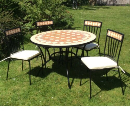 Alicante Garden Table and 4 Chairs