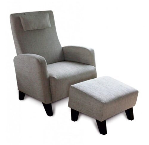 Abella Chair & Footstool