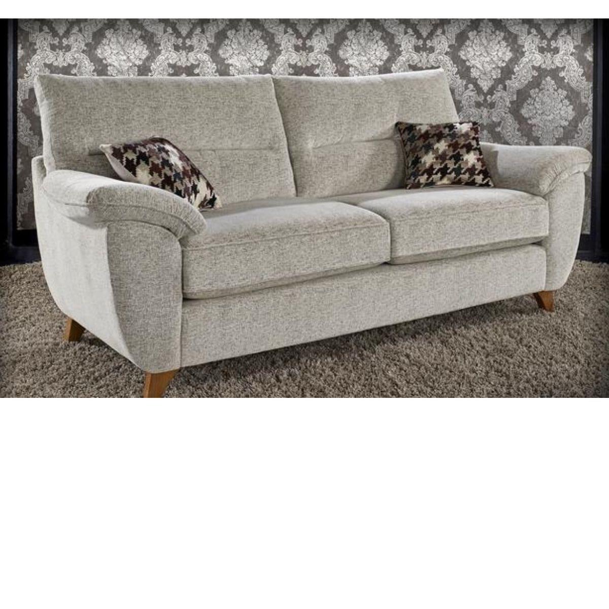 Bali 3 Seater Fabric Sofa