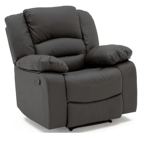 Ben Faux Leather Recliner Armchair