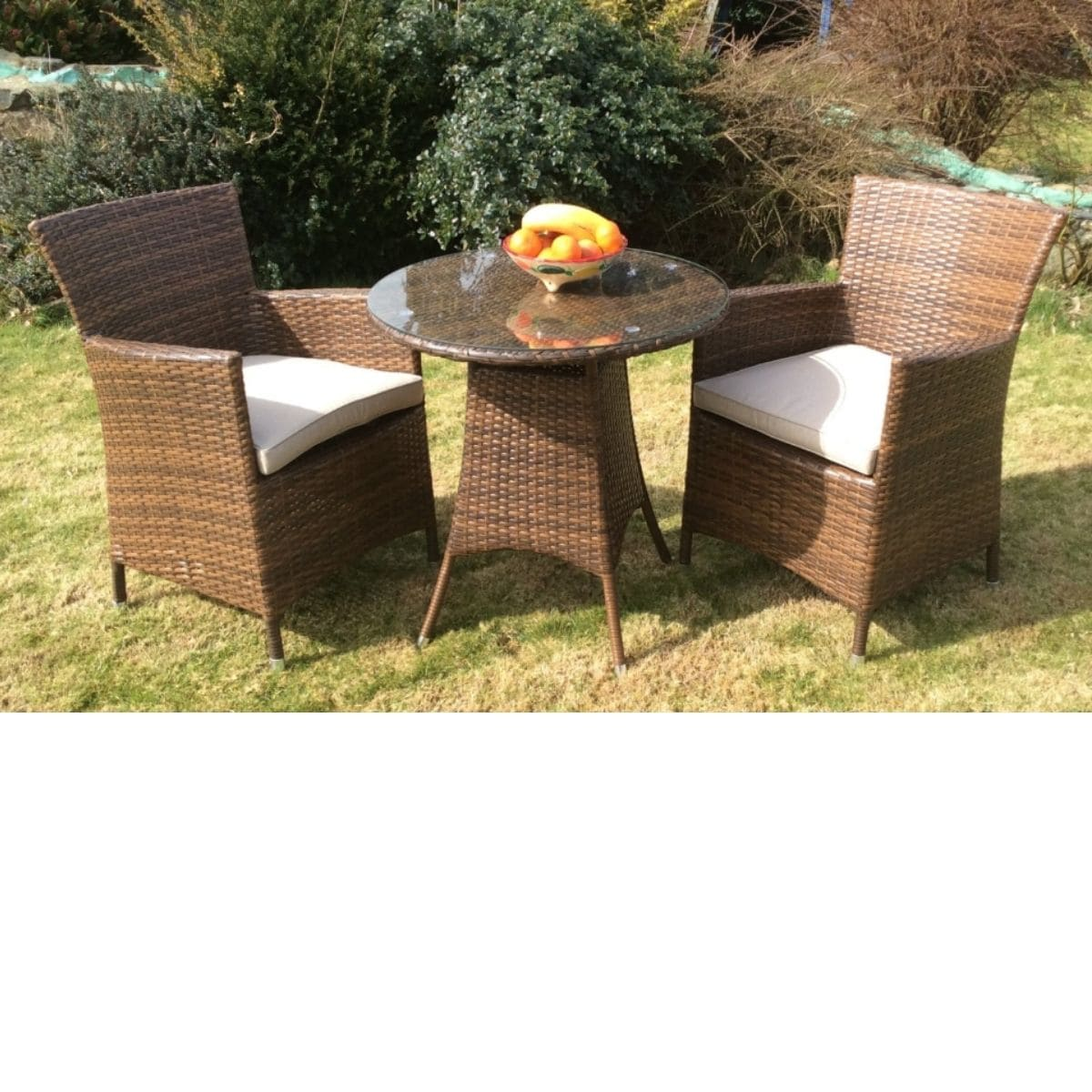 Cabo Garden Table and 2 Chairs