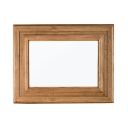 Rustic Oak Framed Mirror