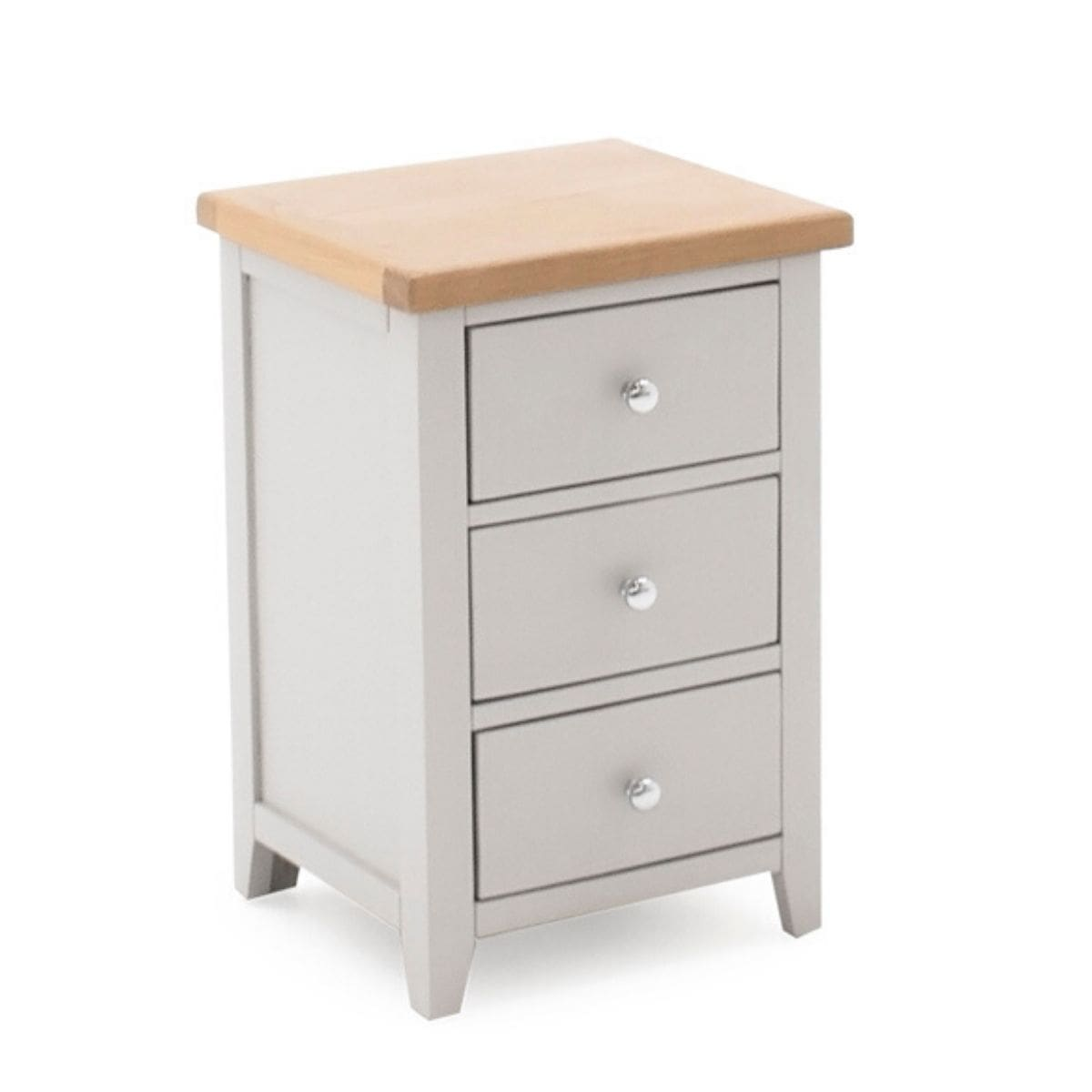 Grey Oak Nightstand