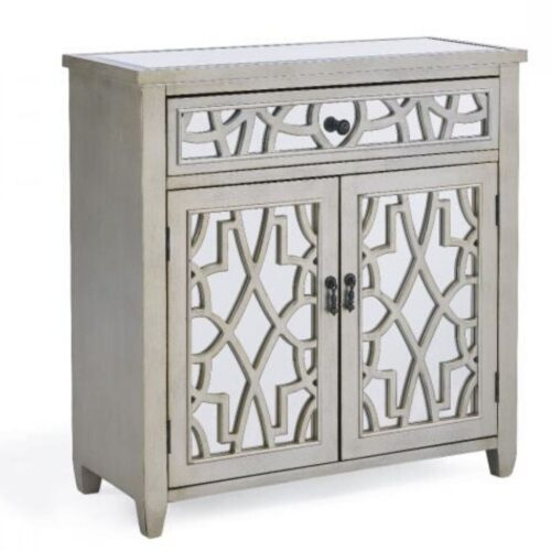Champagne Mirrored Sideboard