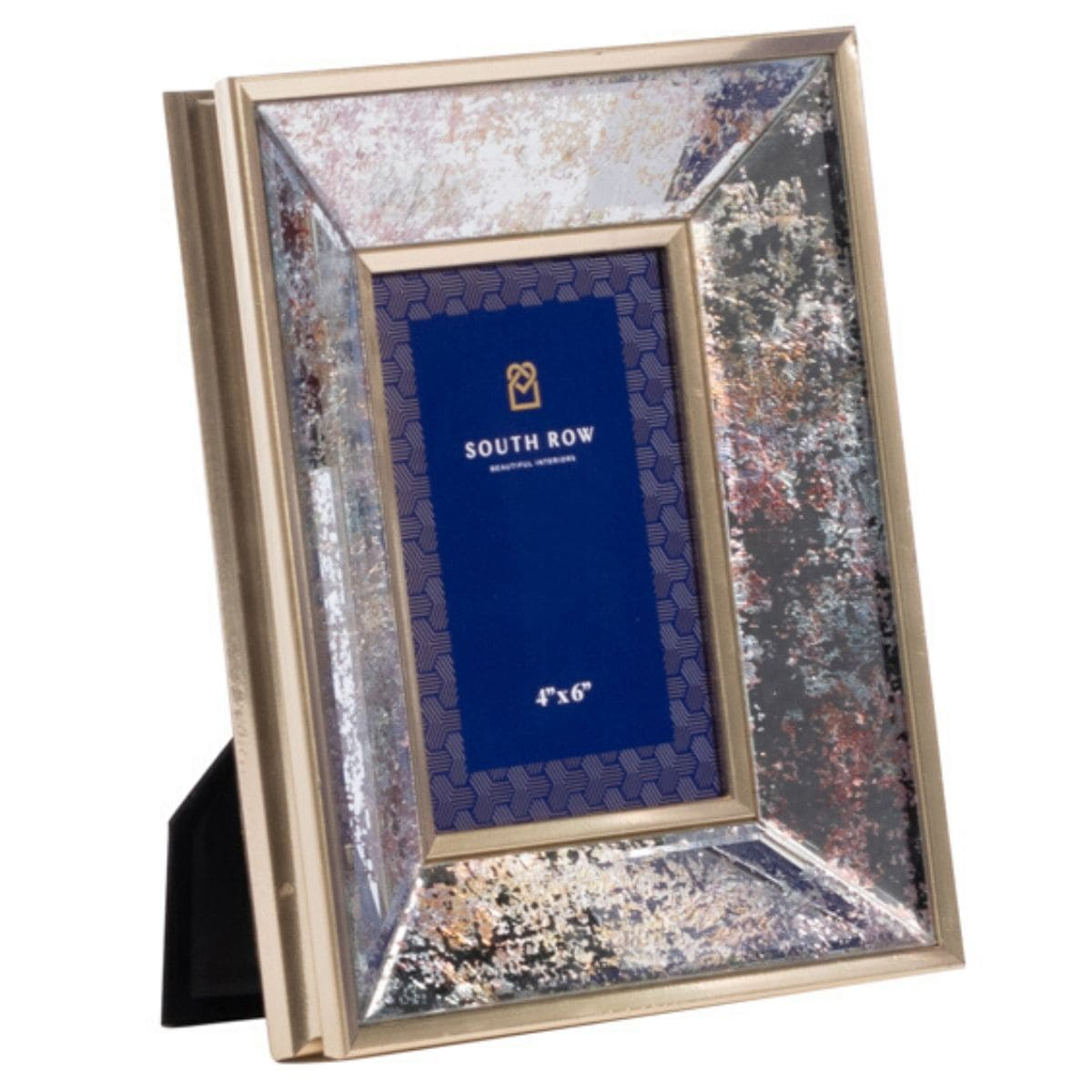 Gold Mirrored Photo Frame