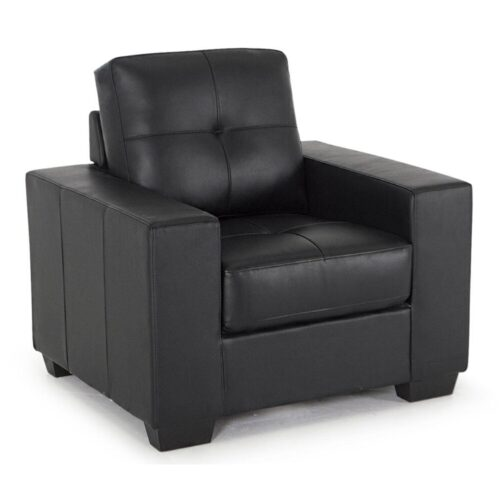Gordon Faux Leather Armchair
