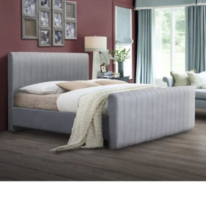 Channel Tufted Bed