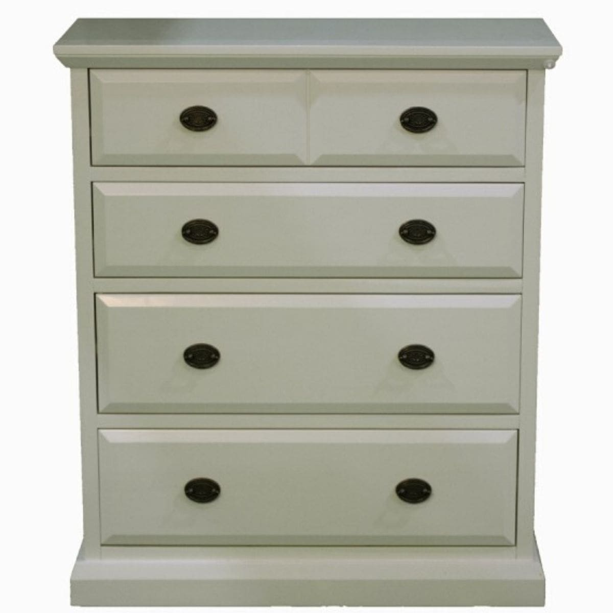 Kerry Cream 4 Drawer Tall Chest