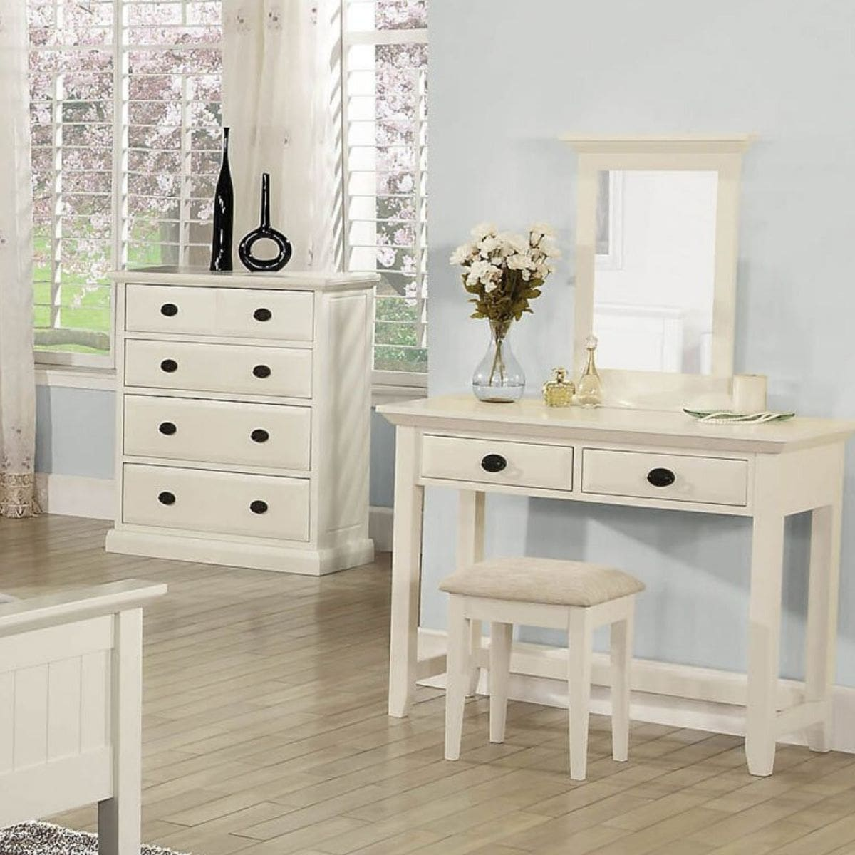 Kerry Dressing Table & Mirror