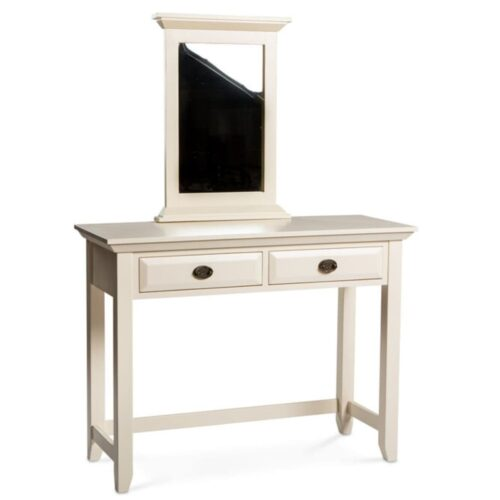 Cream and Oak Dressing Table