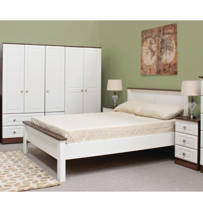 Ivory Bed Frame