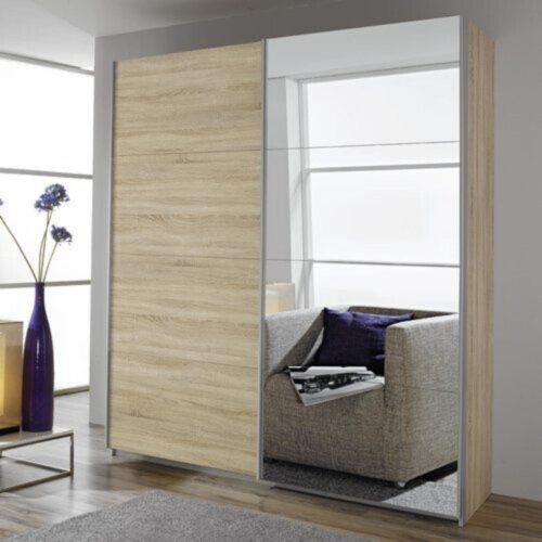 Mateo Mirrored Sliding Wardrobe