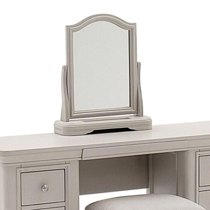 Grey Vanity Mirror