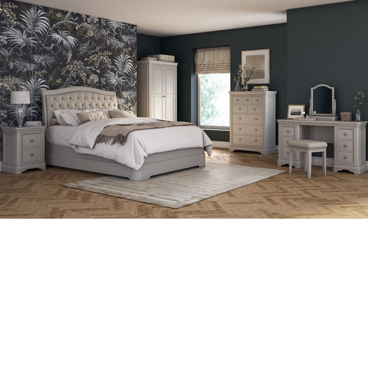 Mika 5 Drawer Tall Chest of Drawers