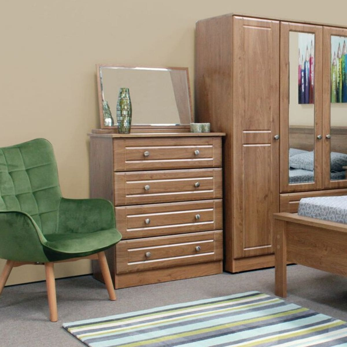 Nore Oak Chest of Drawers - 7 Options