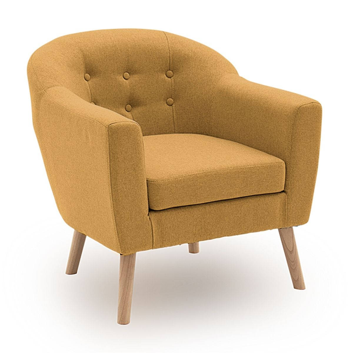 Petra Fabric Accent Chair