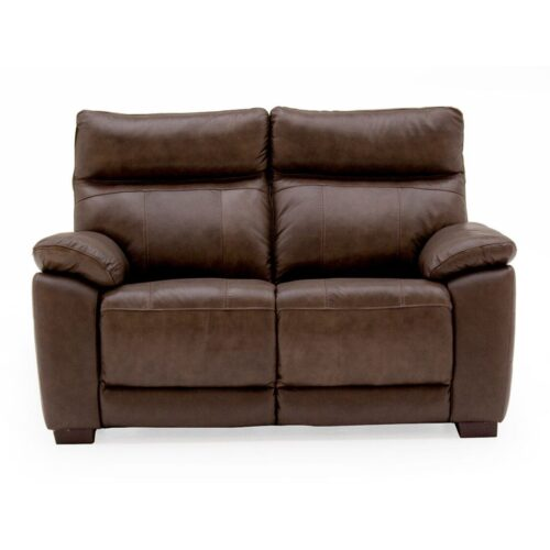 Pomona Leather 2 Seater Sofa