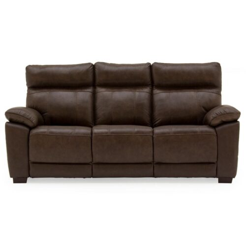 Pomona Leather 3 Seater Sofa