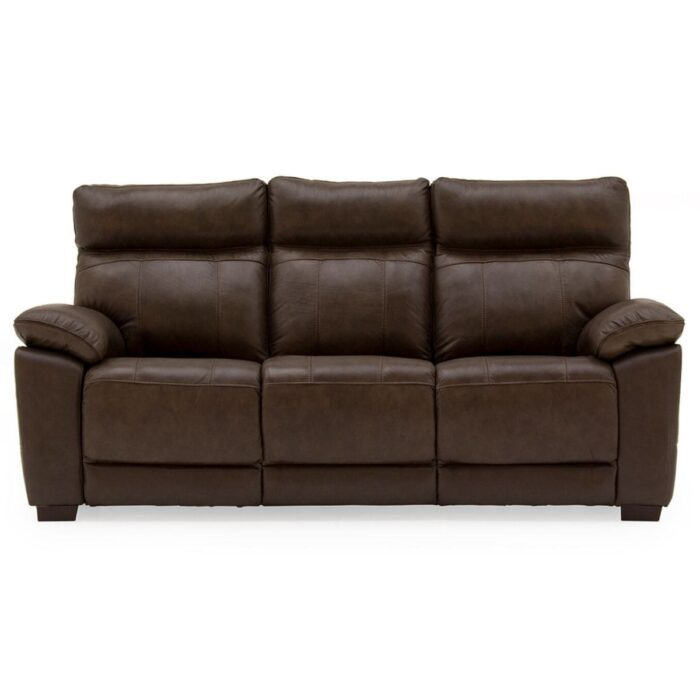 Pomona Leather 3 Seater Sofa