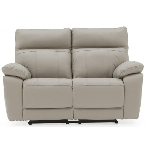 Pomona Leather 2 Seater Recliner Sofa