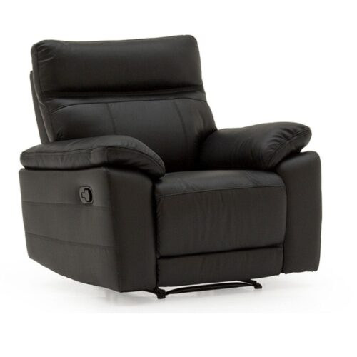 Pomona Leather Recliner Armchair