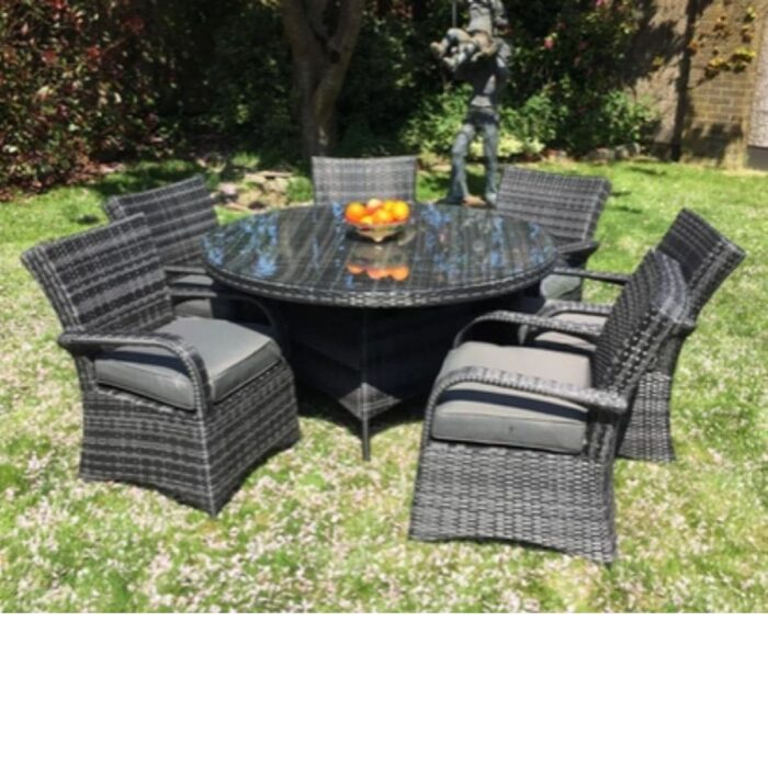 Rhodes Garden Table and 6 Chairs