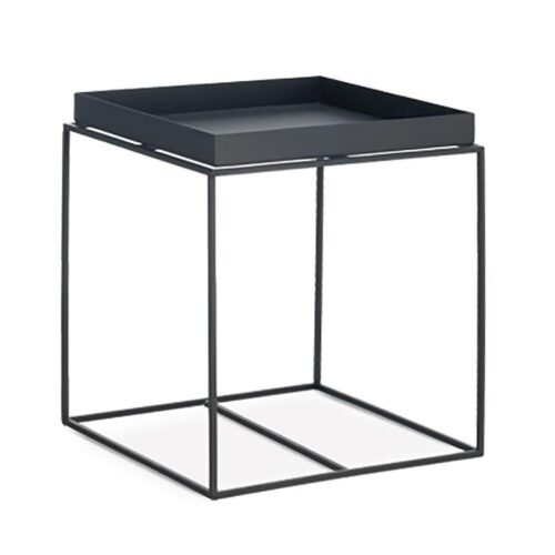 Roger Black Metal Lamp Table