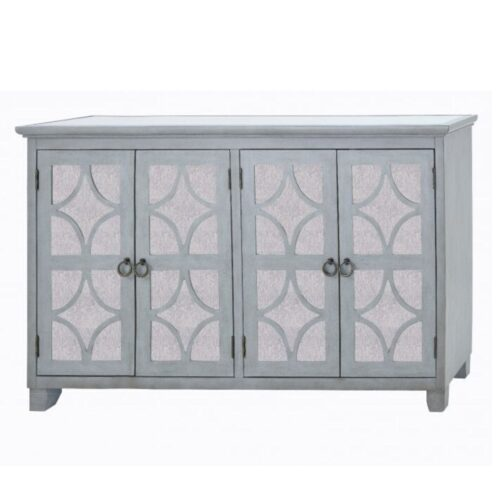 Russell Lattice Mirrored Sideboard