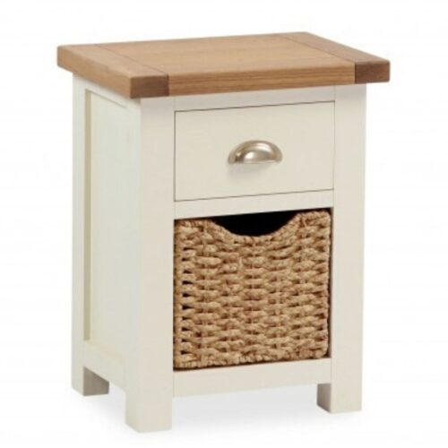 Sabina Basket Drawer Bedside Table