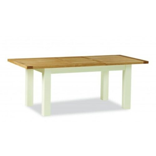 Two Tone Oak Dining Table