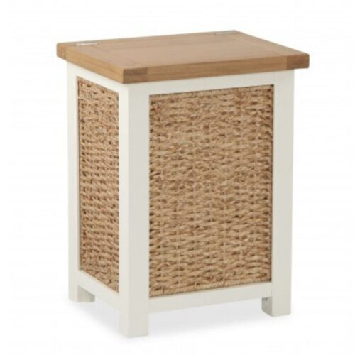 Oak Laundry Basket