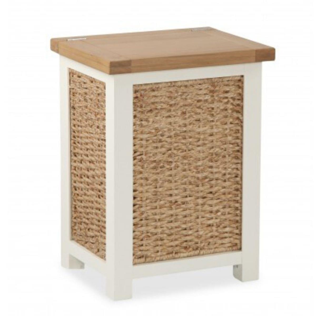 Oak Laundry Basket
