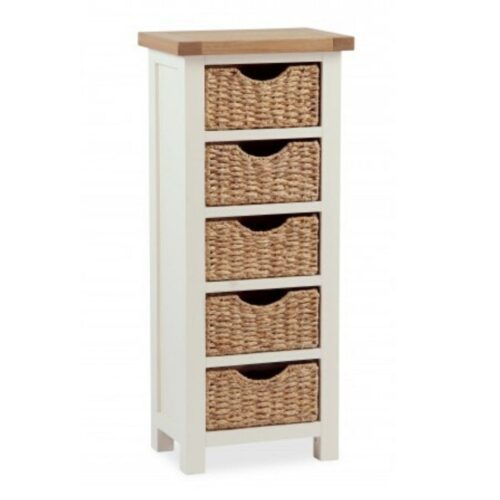 Sabina Five-Basket Chest of Drawers