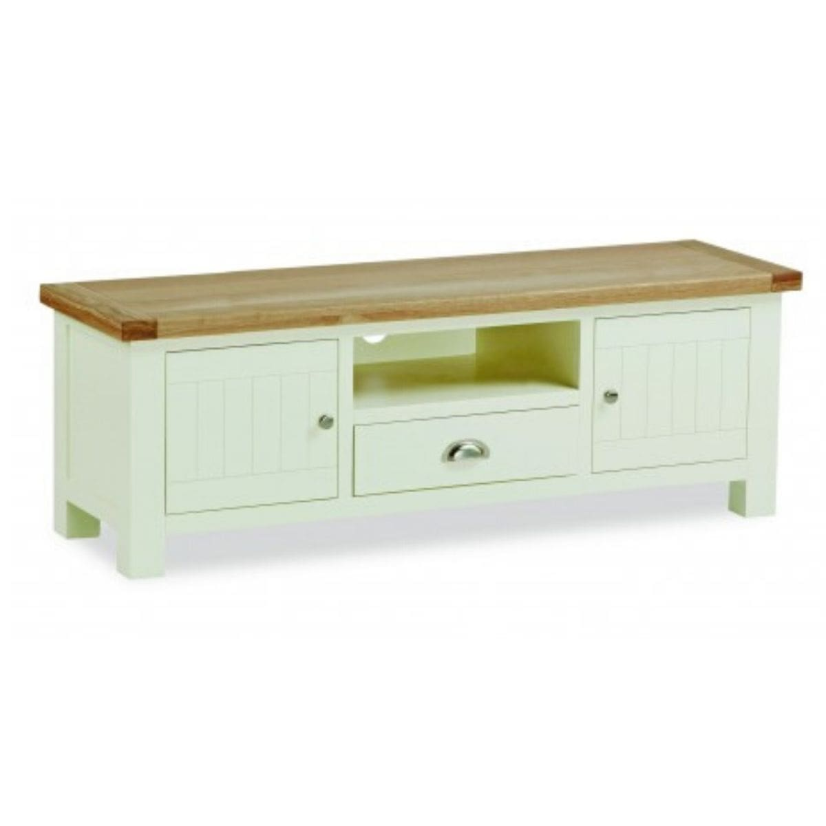 Sabina Two-Tone Oak Large TV Unit