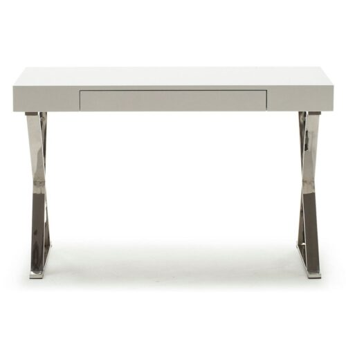 Sarafina White Gloss Desk