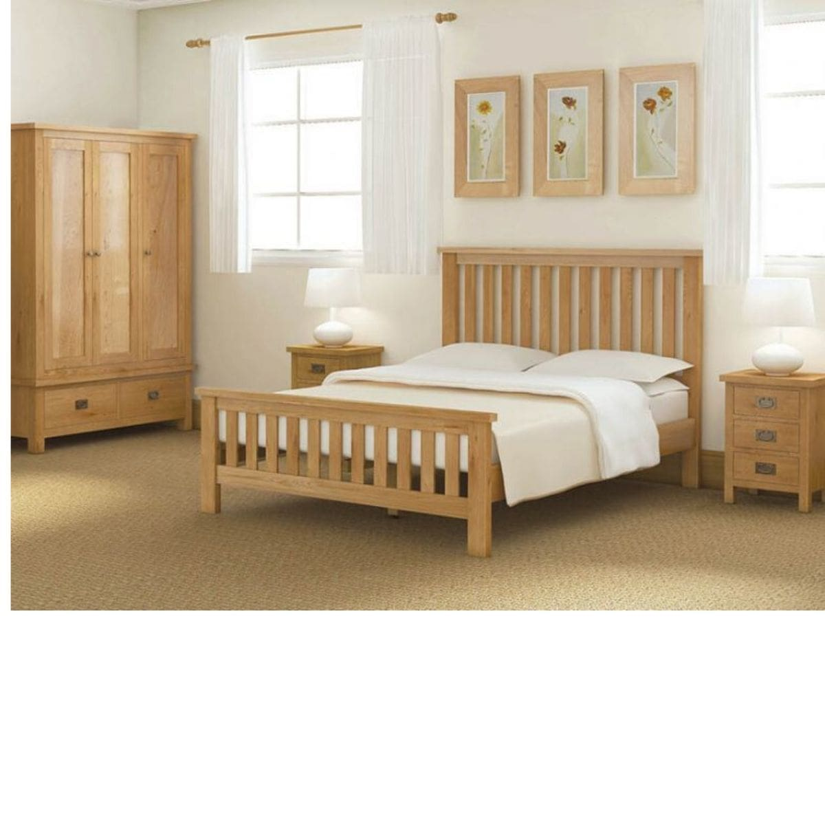 Sonia Double Wardrobe with Drawer