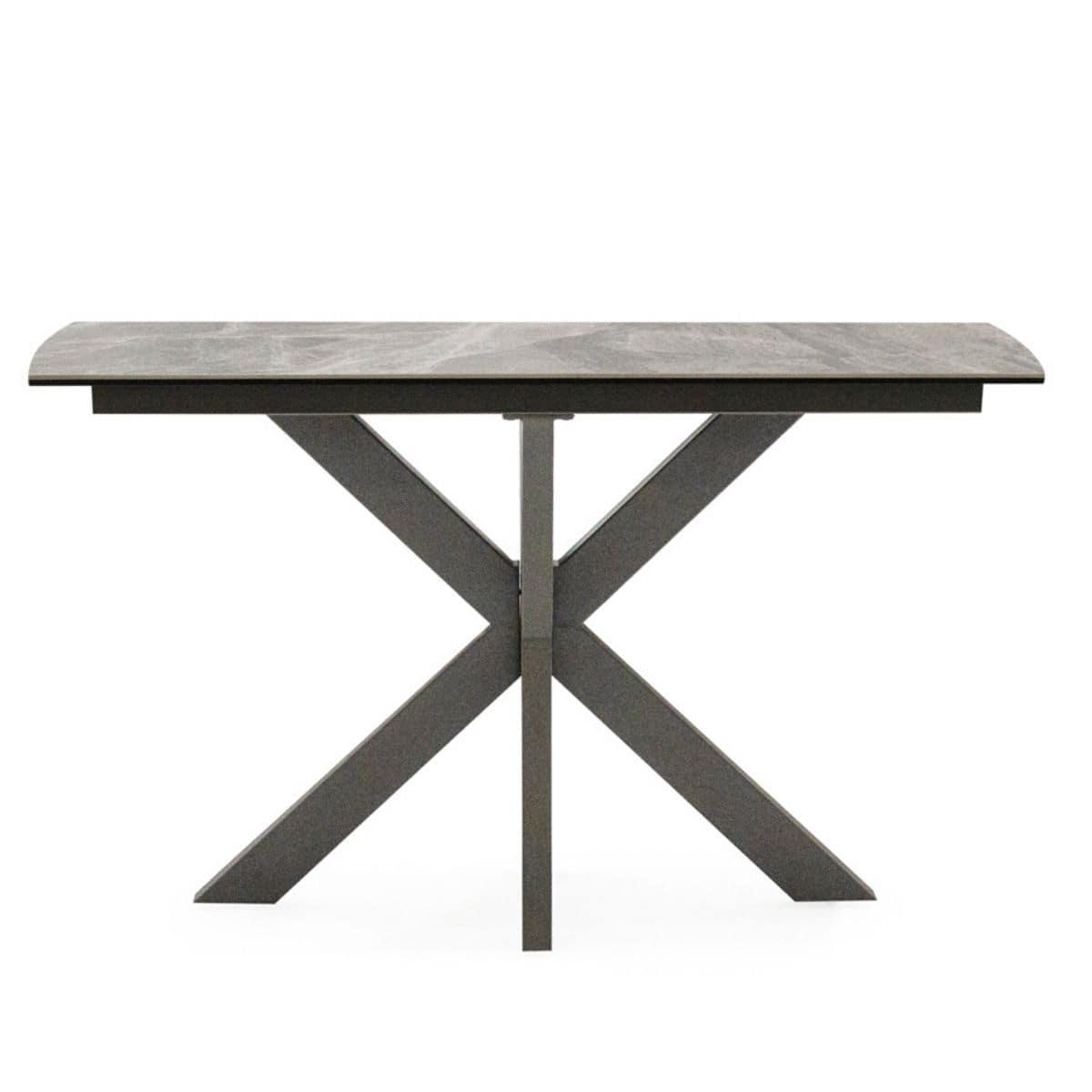 Vica Ceramic Top Console Table