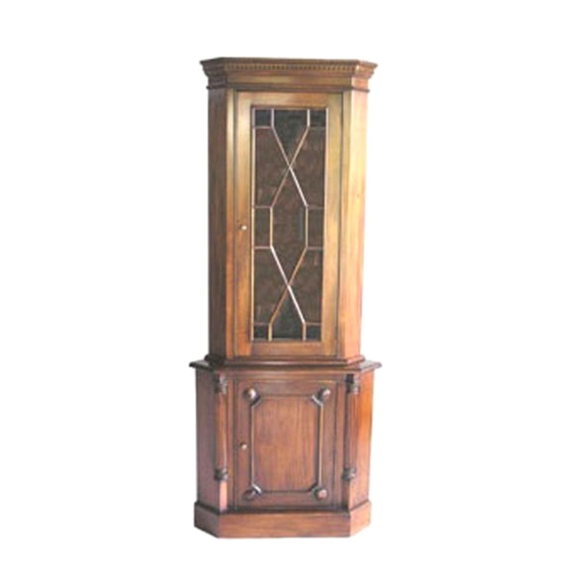 French 1 Door Corner Display Unit