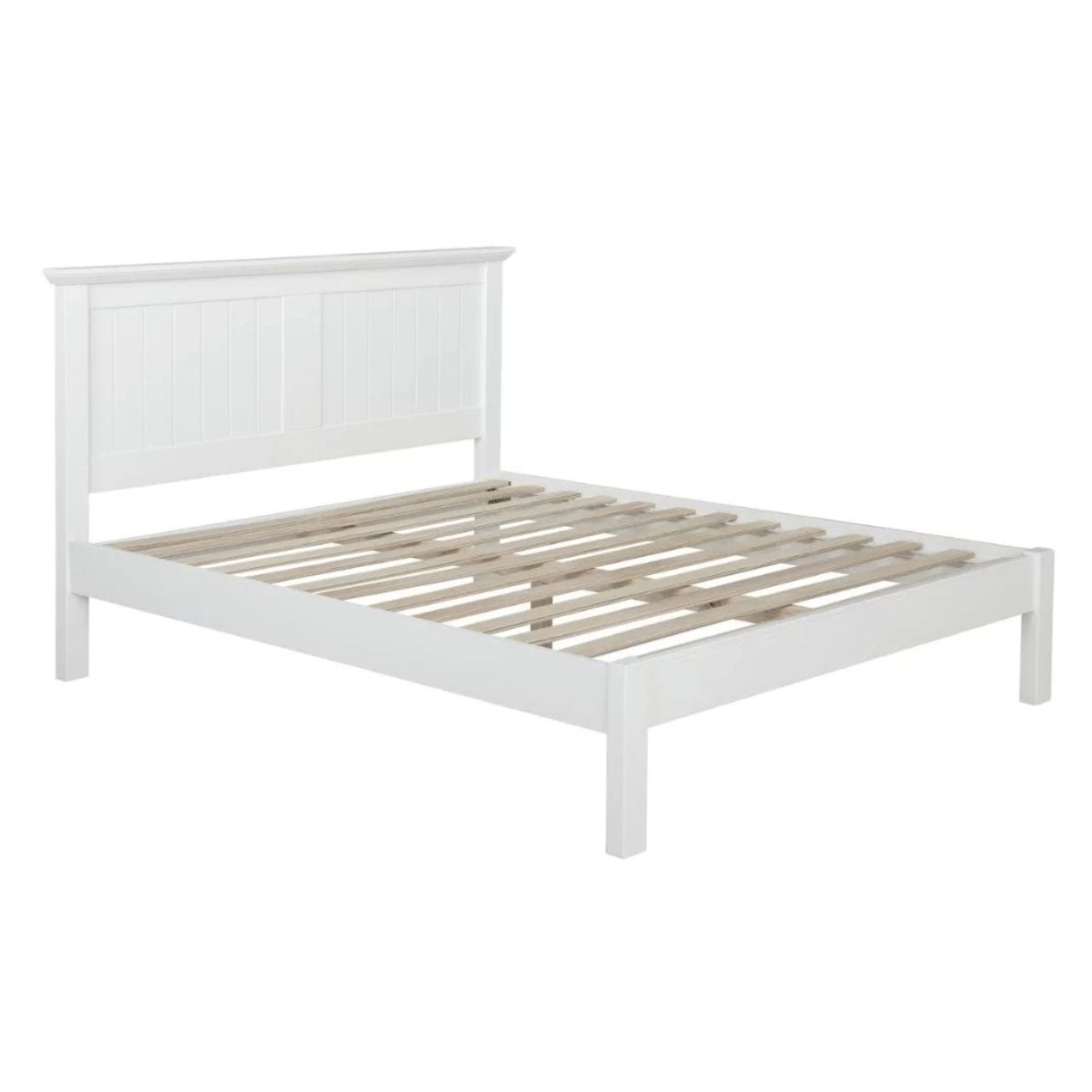 Kerry Cream Panel Bed Frame